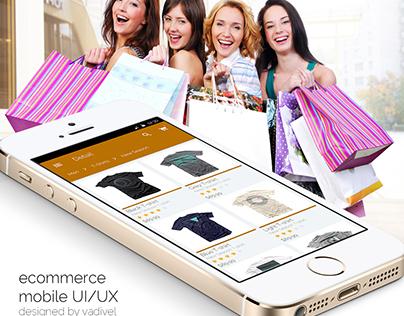 E Commerce Mobile UI/UX