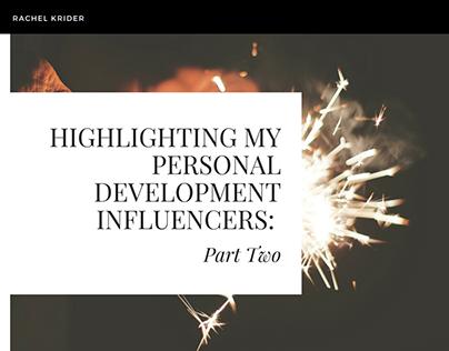 Personal Development Speakers You Should Follow: Part 2