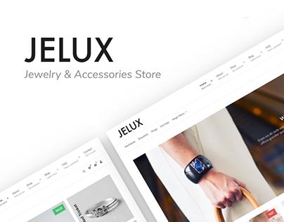 Jelux - Jewelry & Accessories Store WooCommerce Theme