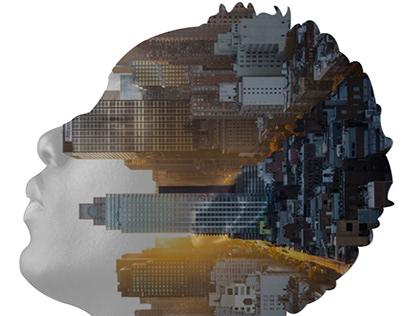 Double Exposure Effect created on Adobe Illustrator