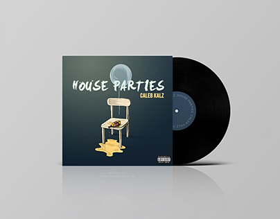 HOUSE PARTIES. ALBUM ART DESIGN.