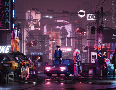 The Cyber City