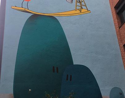 munich mural