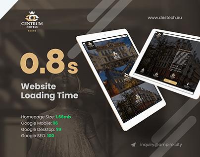Centrum Hotels - Full AMP Website