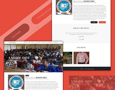 ASSON OOU (Student Association) Website