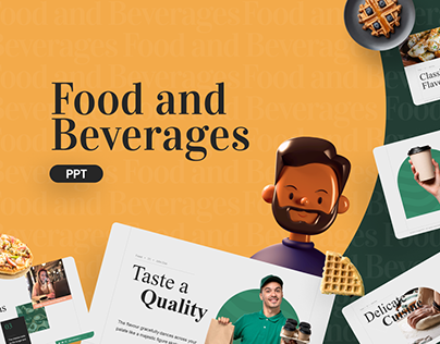 Free Food and Beverages PowerPoint Template