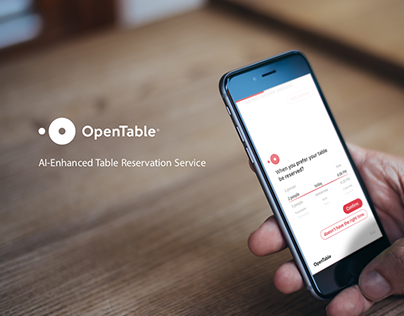 OpenTable Enhanced Service: Design for Cognitive A.I.