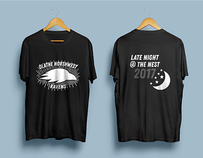 Late Night @ The Nest T-Shirt & Poster