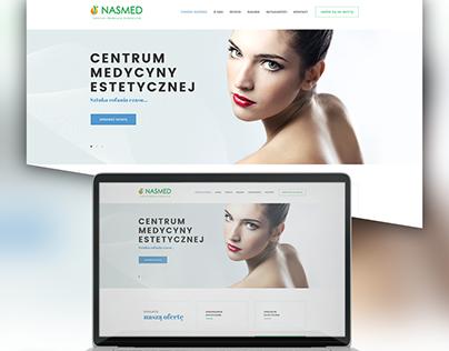 Projekt oraz realizacja dla kliniki NASMED.