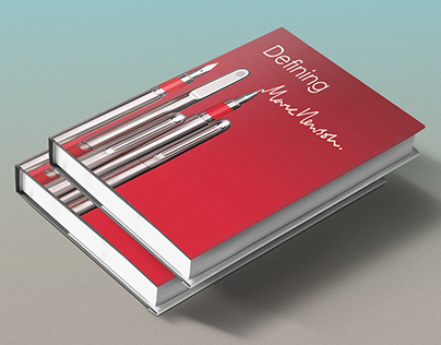 Defining Marc Newson_Booklet design