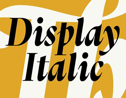 Thesaurus Display Italic