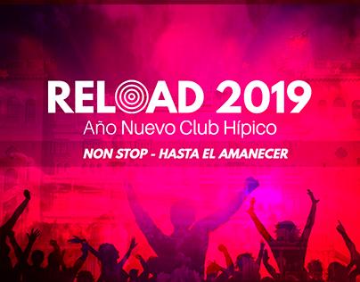 RELOAD 2019 - Fiesta de Año Nuevo en Club Hípico