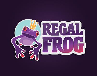 Regal Frog — Logo