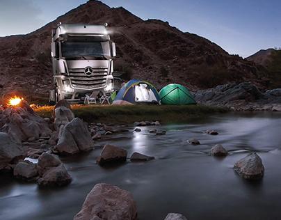Mercedes-Benz Actros. Concept Campaign
