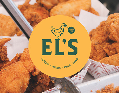 EL'S Fried Chicken Brand Design