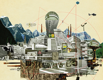 Collage City Mix 7
