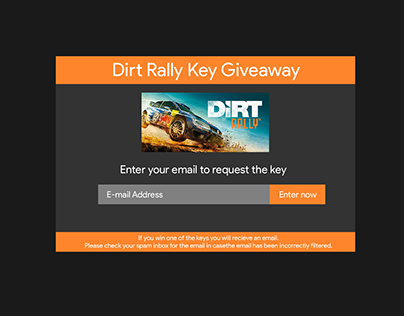 Daily UI | #097 | Giveaway