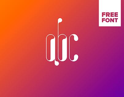 Invertor. Free font