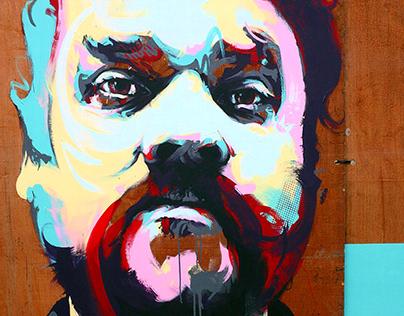 Scott Hutchison Tribute Mural