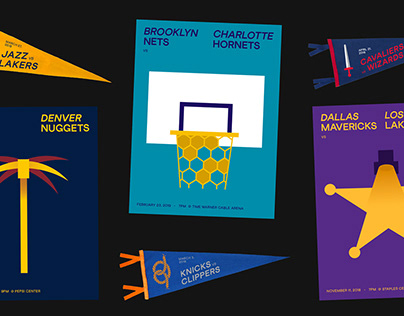 NBA Gameday posters - 2019