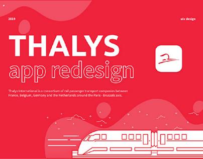 Thalys - Transport app redesign