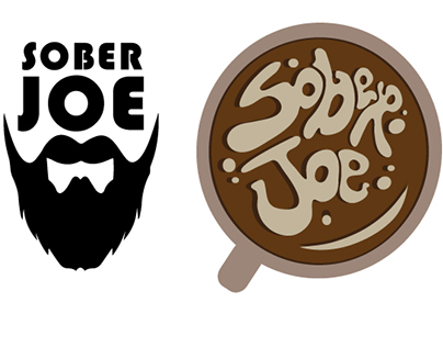 Sober Joe Coffee Logo Design