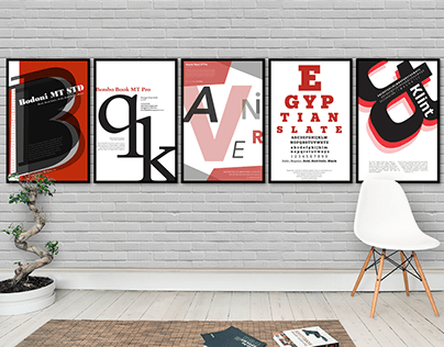 Typography: Poster Series