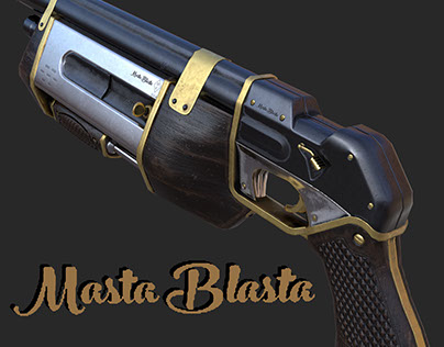 Masta Blasta Shotgun