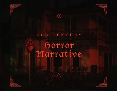 21st Century Horror Narrative