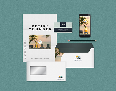 Rapidly Retire - Branding Identity and guidelines.
