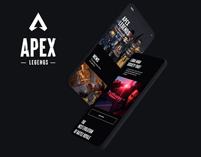 APEX LEGENDS — New website 2020