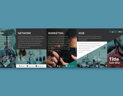 Haneybiz 5-Fold Brochure