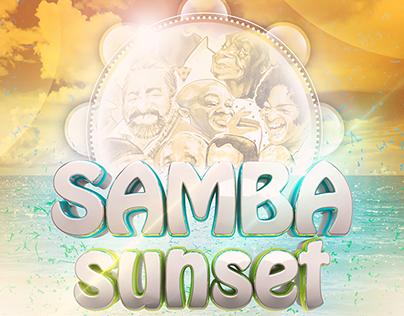 Art Work Samba Sunset