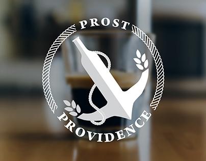 Prost Providence brand Identity