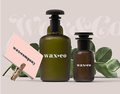 Wax&Company logotype