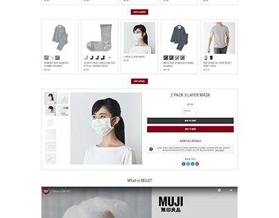 Empire website shopify
