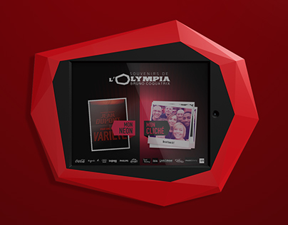 Interactive-experience terminal design for L'Olympia
