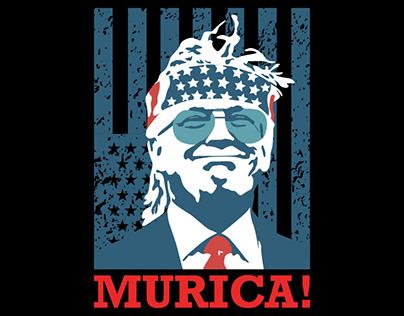 Trump T-shirt (MURICA)