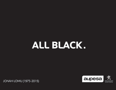 """Aupesa Peugeot """"All Black""""."""