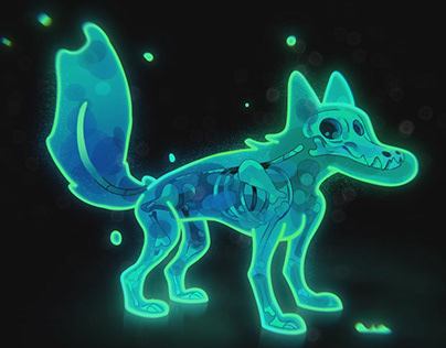 Ghost Dog Animation