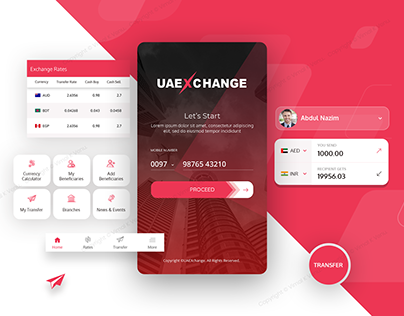 Mobile App | Foreign Exchange - UAE