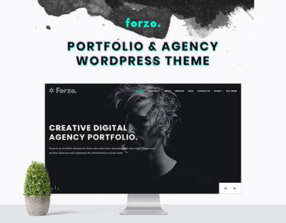 Portfolio Agency WordPress Theme – Forzo