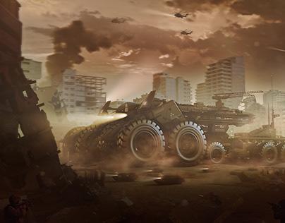 Behemoth mobile base