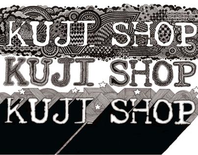 Kuji Shop window display
