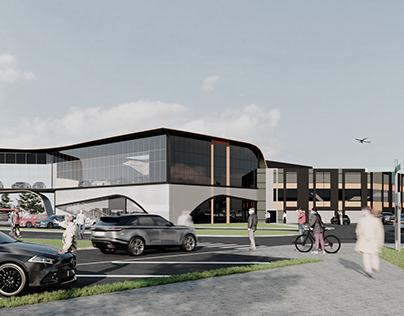 Versatile car center in Aksay