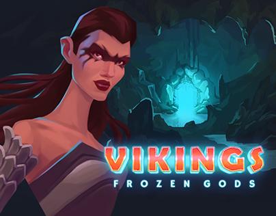 Vikings.Frozen Gods slot game