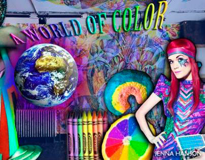 A World Of Color - CAD Pattern designing