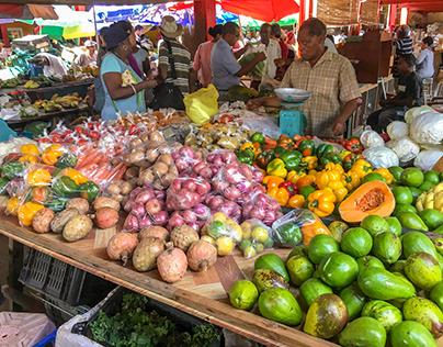 Seychelles, Victoria Market