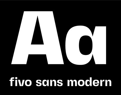 Fivo Sans Modern | Free Display Font Family