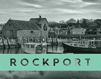 Brand Identity for the Town of Rockport, Massachusetts